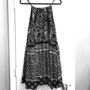 Torrid dress, Black & white, plus size